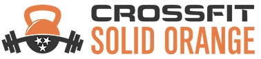 CrossFit Solid Orange Icon