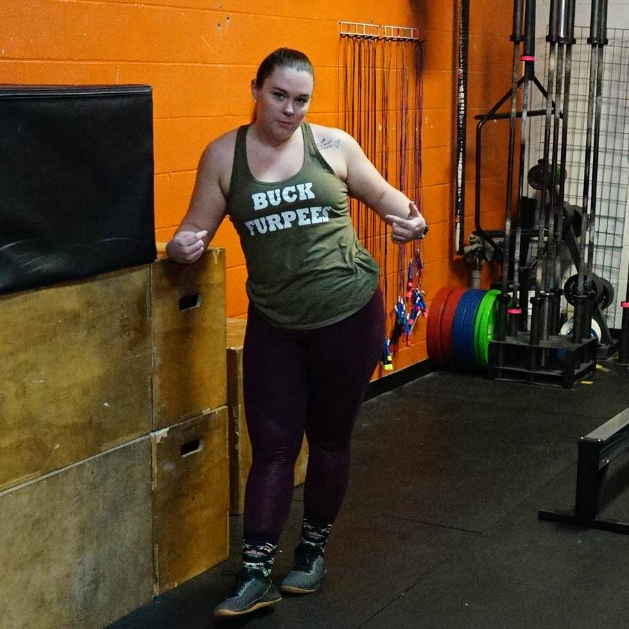find crossfit gym bellevue - Athlete of the Month: Brittany Nelson