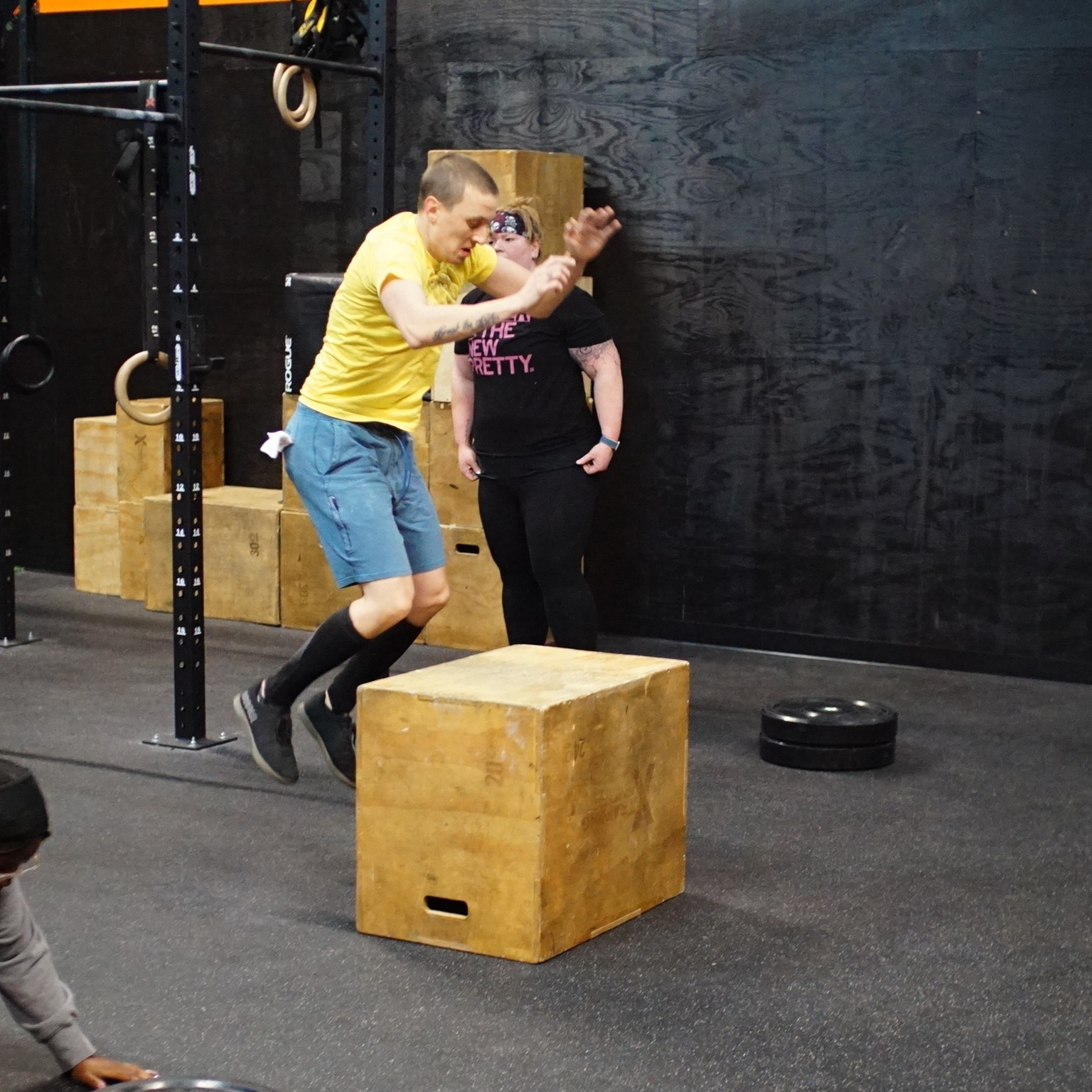 find group fitness bellevue - Athlete of the Month: Chris George