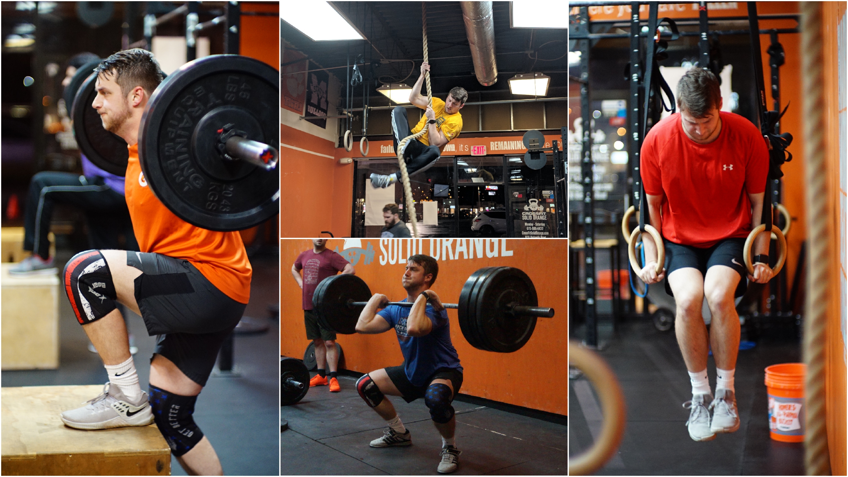 find group training antioch - Athlete of the Month: Aaron Burrell