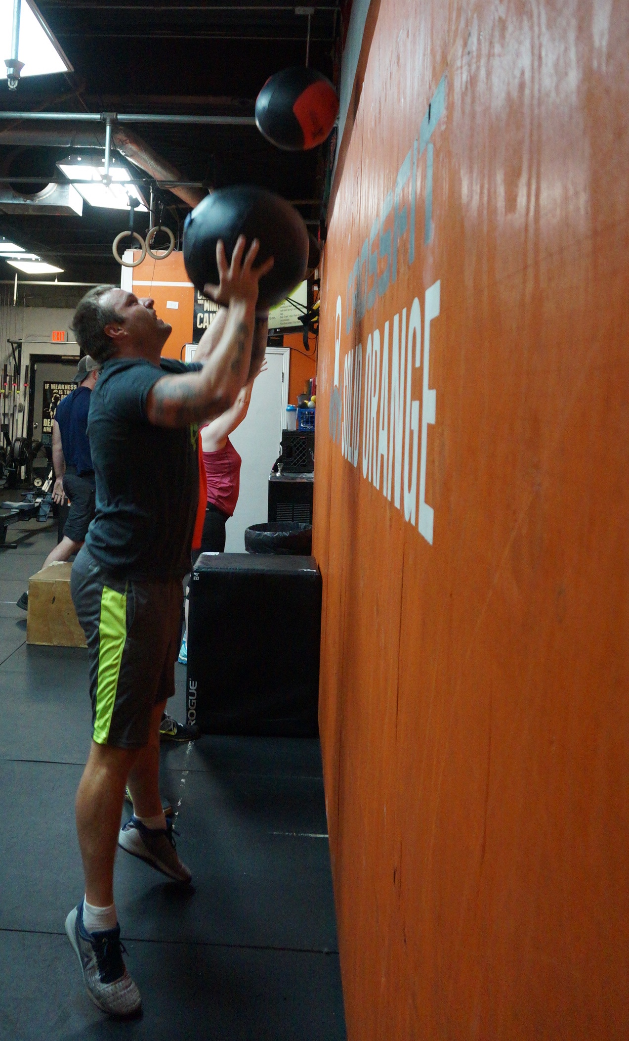 find group training near me bordeaux - Athlete of the Month: Scott Gibson