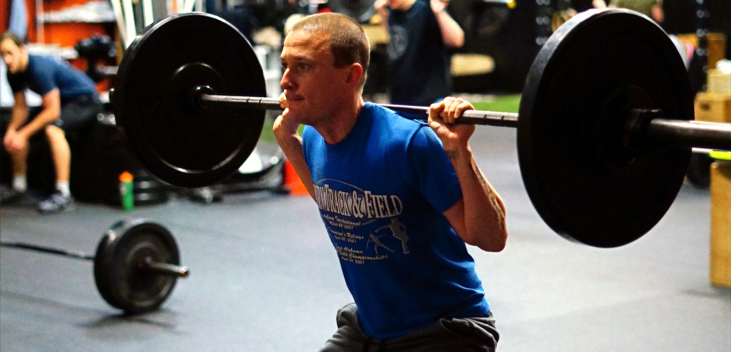 find gym classes near me bellevue - Athlete of the Month: Chris George