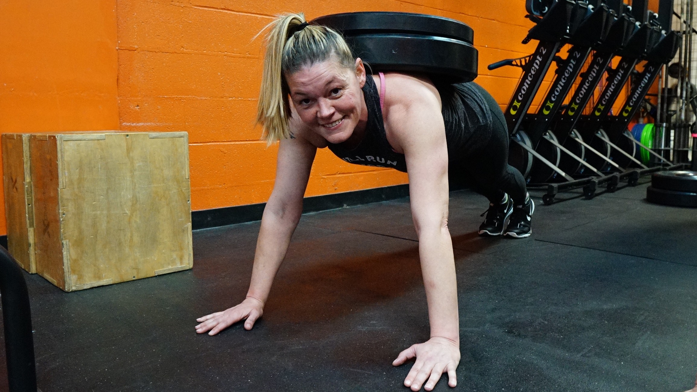 find local crossfit nashville - Athlete of the Month: Amy Kight
